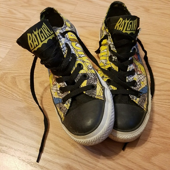 d3fe4b707acd Converse Shoes - DC Comics Batgirl exclusive Converse SZ 8